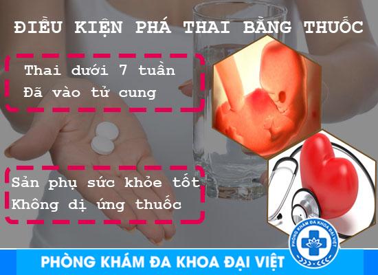 THUỐC PHÁ THAI 1 TUẦN TUỔI AN TOÀN Ở TPHCM - Phòng Khám Đa Khoa 3 Tháng 2