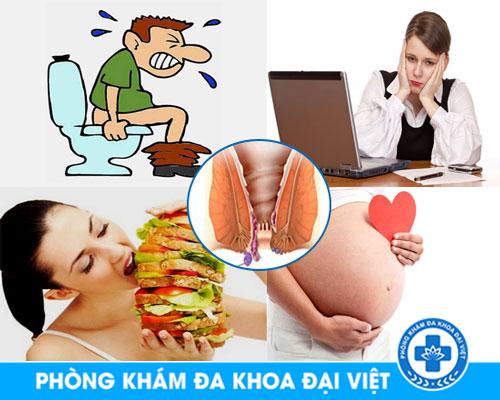 Nguyên nhân dẫn đến bệnh trĩ ngoại - Phòng Khám Đa Khoa 3 Tháng 2
