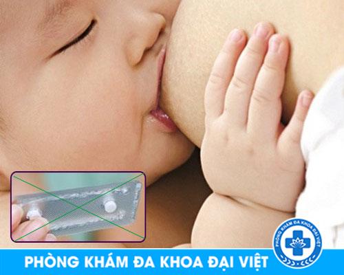 PHÁ THAI BẰNG THUỐC CÓ CHO CON BÚ ĐƯỢC KHÔNG TPHCM - Phòng Khám Đa Khoa 3 Tháng 2